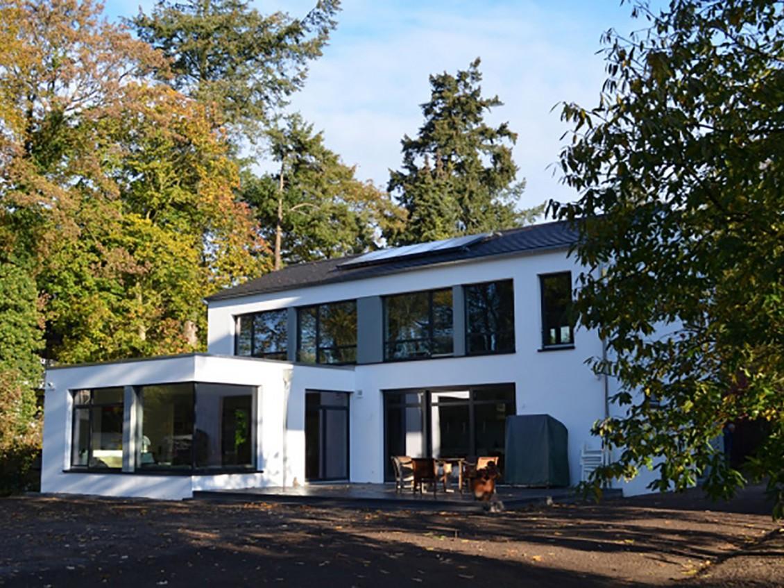 neubau haus s in bremen romeiserplus architekten bda. Black Bedroom Furniture Sets. Home Design Ideas